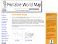 Details : Printable World Map