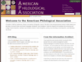 Details : American Philological Association